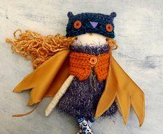 #dolls #Owl Girl Doll/ / OOAK Doll/ Handmade Doll/ by thedollsunique