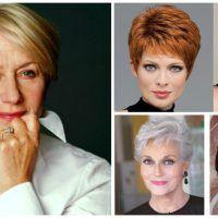Az idei év legdivatosabb frizurái 50 év fölötti hölgyeknek! Egy jó frizura megfiatalít!