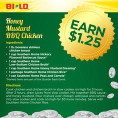 Honey Mustard BBQ Chicken