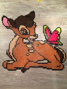 Bambi Disney hama beads by Shirley Boon
