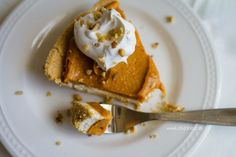 Pumpkin Cheesecake Ecstacy Double Layer Pumpkin Pie