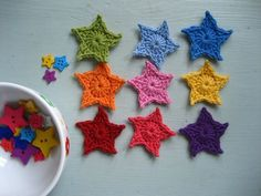 Lucy's Teeny Tiny Stars tutorial @ Attic24