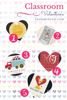 Classroom Valentine's from minted.com