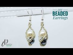 Glamorous Art Deco Dangle Earrings- formal occasion/ fancy drop earrings/ wedding earrings/ bridal earrings/ bridesmaid gifts/ gifts for her - Fine Jewelry Ideas Wedding Earrings Drop, Bar Stud Earrings, Moon Earrings, Bridesmaid Earrings, Bridal Earrings, Crystal Earrings, Beaded Earrings, Beaded Jewelry, Handmade Jewelry