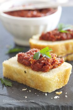 Sun Dried Tomato and Balsamic Tapenade