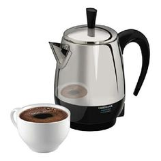 Farberware 2-4-Cup Percolator, FCP240, Stainless Steel - Free Shipping