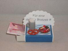 Geschenke für Männer - Geldgeschenk, Streichholzschachtel, bayrisch - ein Designerstück von mafi-mak bei DaWanda
