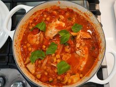 Get Chicken with Chickpea and Tomato Ragu Recipe from Food Network