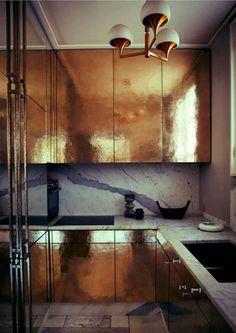 5x glamorous goud in de keuken   ELLE Decoration NL