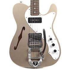 Fender Custom Shop Double Bound Thinline Telecaster Closet Classic w/Bigsby, Mas