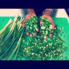 #hopemission.  We always need green onions.
