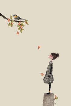 Image about text in Ottokim by ɐsıƃ on We Heart It Graphic Wallpaper, Cute Wallpaper Backgrounds, Cartoon Wallpaper, Cartoon Girl Images, Flower Art Drawing, Abstract Watercolor Art, Anime Art Girl, Cute Art, Art Drawings