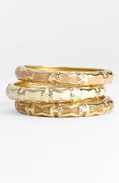 Sequin 'Brights' Small Enamel Bangle available at Nordstrom