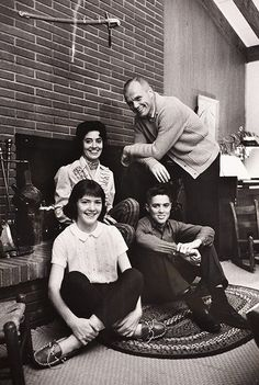 John Glenn and family at home. Life magazine photographer Ralph Morse was assigned to photograph the early US astronauts and their families in their homes, to give a human face to the Mercury space programme Photograph: Ralph Morse/Courtesy of WestLicht Nasa Missions, Moon Missions, Apollo Missions, Astronauts In Space, Nasa Astronauts, Nasa Space Pictures, Gus Grissom, Nasa Moon, Project Mercury