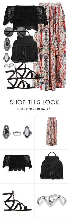 """Untitled #5169"" by angela379 ❤ liked on Polyvore featuring Topshop, Gianvito Rossi and Monki"