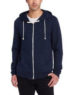 Save $24.99 on Threads 4 Thought Men`s Triblend Zip Front Hoodie; only $25.01 + Free Shipping