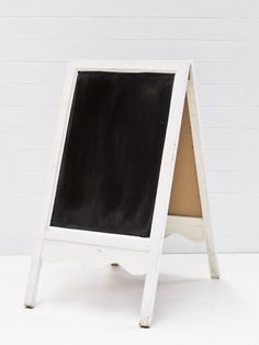 Hampton Event Hire // Large A Frame Chalkboard // Servicing Byron Bay / Gold Coast / Brisbane // www.hamptoneventhire.com