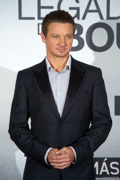 Jeremy Renner Attends 'The Bourne Legacy' Photocall In Madrid / MADRID, SPAIN - JULY 18 , 2012.