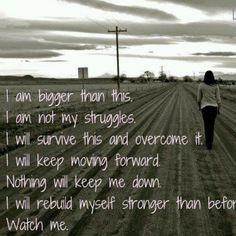 I am and I will.
