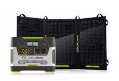 Goal Zero Yeti 400 Solar Generator Kit