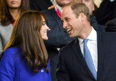 Aw! The royal couple shared a sweet laugh while watching the Rugby World Cup.