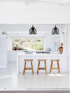 Een droomhuis in Zuid-Afrika - licht, wit en toch een stijlvol interieur! - MakeOver.nl