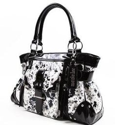 Nicole Lee Handbags Floral Print Purse (Black) By Nicole Lee, http://www.amazon.com/dp/B007QMKS6G/ref=cm_sw_r_pi_dp_RMorqb1HGYRQW