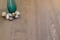Love grey wood floors!
