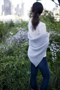 5 minutes with Michele Wang: download her Novak shawl knitting pattern at LoveKnitting