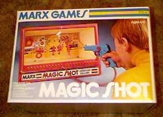 Magic Shot Shooting Gallery..had it..bought one many years later for my hubby;)