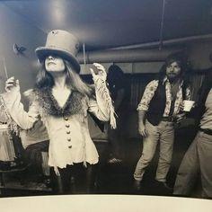 Rossington Collins Band:  Dale Krantz with Leon's hat