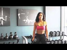 #RosaAcosta.. Arms Workout  (Video 1)..I love Rosa Acosta!!..#FitnessInspiration =)