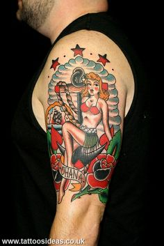 1000 images about old school tattoos on pinterest old for Traditional pin up tattoos