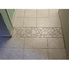 Decorative Tile Strips Tile Transitionborderneed To Remember When Laying Different