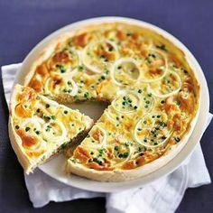 tarte saumon petits pois