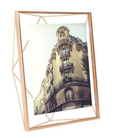 Umbra Prisma Picture Frame, 8 by 10-Inch, Copper [2 to 5 Day Free Delivery]  #PhotoFrame #BB #WallDécor #family $24.99