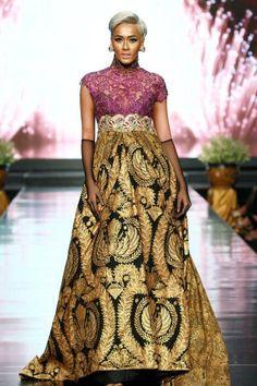 "Kimmy Jayanti, My Fav Model on ""Matahati"" kebaya by Anne Avantie"