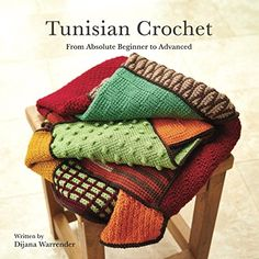 A comprehensive guide to Tunisian Crochet written especially for the complete beginner.