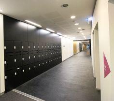 Activelocker #interiors #commercial #lockers #design #architecture #black #storage