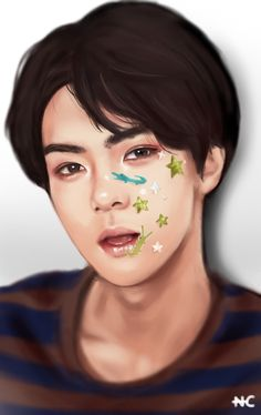 Image uploaded by Mily. Find images and videos about kpop, exo and sehun on We Heart It - the app to get lost in what you love. Avatar Picture, Chanyeol Baekhyun, Exo Exo, Rapper, Supernatural Pictures, Flame Princess, Exo Fan Art, Bts And Exo, Kpop Fanart