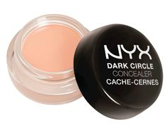 """Nyx Cosmetics - Dark Circle Concealer in Medium """"When dealing with dark undereye circles, it's important to color-correct using a peach tone like this one from Nyx,"""" Ferreri says. Nyx Cosmetics, Benefit Cosmetics, Drugstore Concealer, Best Concealer, Under Eye Concealer, Dark Circles Makeup, Concealer For Dark Circles, Eye Circles, Too Faced"""