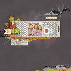 Scrapbook Page from Amy Mallory at DesignerDigitals