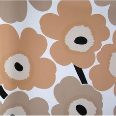 "Found it at AllModern - Unikko 33' x 27"" Floral 3D Embossed Wallpaper"