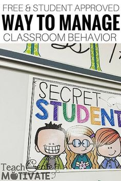 Want a student approved way to manage classroom behavior that requires no prep? … Want a student approved way to manage classroom behavior that requires no prep? Classroom Management Techniques, Classroom Behavior Management, Student Behavior, Student Teaching, Classroom Behavior System, Teaching Tips, Classroom Incentives, Behavior Incentives, Behaviour Management Strategies
