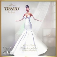 W TD Aniela Weeding Dress All Appliers