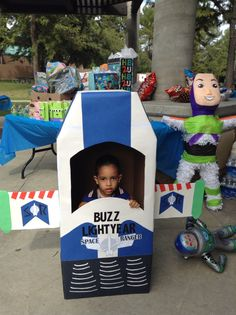 Buzz Light Year Space Ship Photo Prop Aydens Toy Story