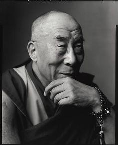 The Dalai Lama. Photo by Mark Seliger, via Peter Fetterman Gallery.