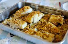bacalhau com broa @ Mother-in-Law Restaurante