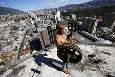 Squatters in Venezuela's 45-Story 'Tower of David' - In Focus - The Atlantic (Reminds me of the place where Brody hides in Homeland)