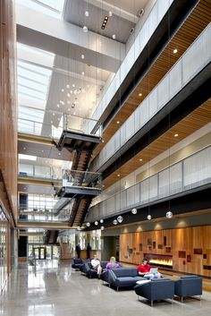 Gallery - Alumni Center / TVA Architects - 4 Shoping Mall, Building Development, Mix Use Building, University Architecture, Architecture Office, Arch Interior, Office Interior Design, Corporate Interiors, Office Interiors